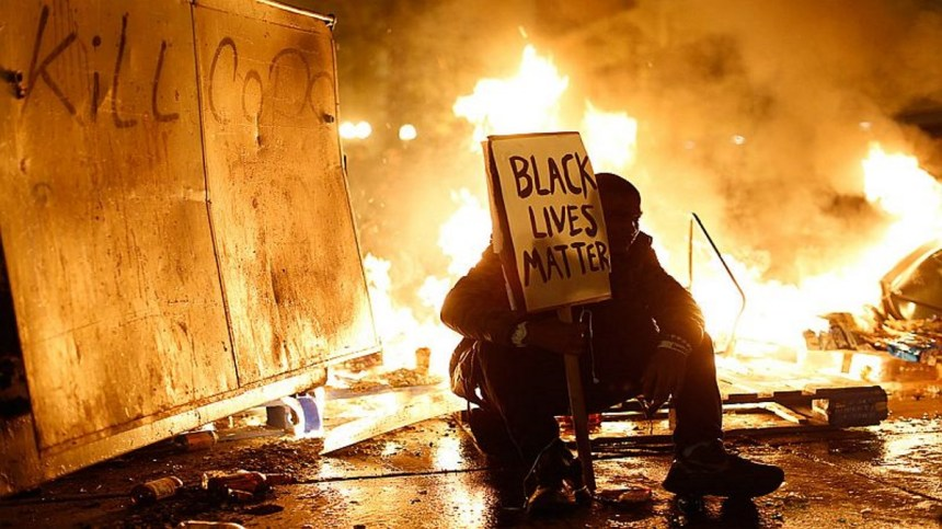 "This week's question involves a ""hot"" topic: Black Lives Matter"