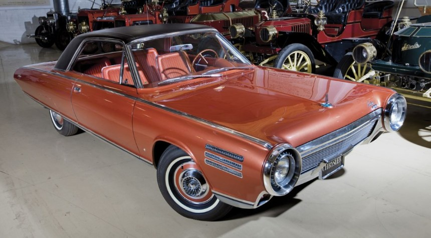 Chrysler achieved the feat of putting a jet turbine engine in a car in the 1960s